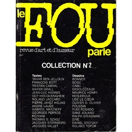Le Fou Parle N�5-6-7 Hors-S�rie N� 2 : Collection N�2