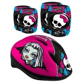 Monster High Casque + Coudieres/Genouilleres