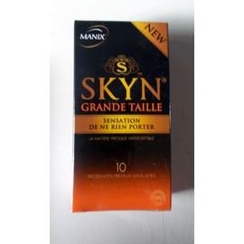 Manix Skyn Grande Taille - Bo�te De 10 Pr�servatifs