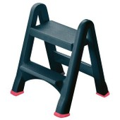 155160 - Tabouret Pliable 2 Marches Anthracite