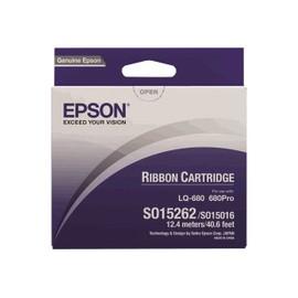 Epson - 1 - Noir - Ruban Tissu - Pour Lq 1060, 2500, 2500+, 2550, 670, 680, 680pro