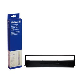 Pelikan - 1 - Noir - Ruban Tissu - Pour Citizen Prodot 9; Compuprint 4/14, 92x; Epson Actionprinter 4000, L-1000; Mx 80, 82; Rx 80