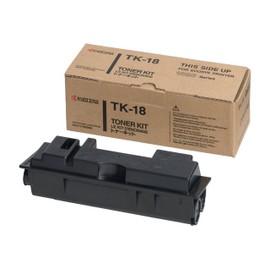 Kyocera Tk 18 - Noir - Original - Cartouche De Toner - Pour Kyocera Fs-1018, Fs-1118, Fs-1118f Mfp/Kl3, Fs-1118fdp Mfp/Kl3; Fs-1020