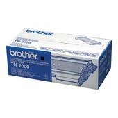 Brother Tn2000 - Noir - Original - Cartouche De Toner - Pour Brother Dcp-7010, 7025, Mfc-7225, 7420, 7820; Fax-28xx, 2920; Hl-20xx; Intellifax 2920
