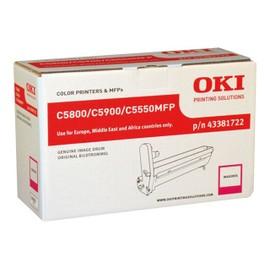 Oki - Magenta - Kit Tambour - Pour C5550 Mfp, 5800dn, 5800ldn, 5800n, 5900cdtn, 5900dn, 5900dtn, 5900n