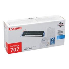 Canon 707 - Cyan - Original - Cartouche De Toner - Pour I-Sensys Lbp5000, Lbp5100; Laser Shot Lbp-5000, 5100