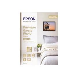 Epson Premium Glossy Photo Paper - Papier Photo Brillant - 130 X 180 Mm - 255 G/M2 - 30 Feuille(S) - Pour Epson L655; Expression Premium Xp-530, 630, 635; Surecolor P400, Sc-P400