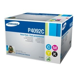 Samsung Clt-P4092c - Pack De 4 - Noir, Jaune, Cyan, Magenta - Original - Cartouche De Toner - Pour Clp-310, 310n, 315, 315w; Clx-3170fn, 3175, 3175fn, 3175fw, 3175n, 3175w