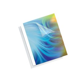 Fellowes - 25 Mm - A4 (210 X 297 Mm) - 250 Feuilles - Transparent - 250 G/M2 - 50 Unit�s Couverture � Reliure Thermique