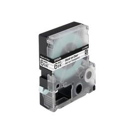 Epson Lc-2tbn9 - Film Transparent - Noir Sur Transparent - Rouleau (0,6 Cm X 9 M) 1 Rouleau(X) - Pour Labelworks Lw-1000p, Lw-300, Lw-300l, Lw-400, Lw-400l, Lw-400vp, Lw-600p, Lw-700, Lw-900p