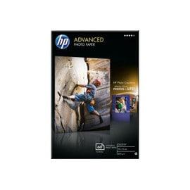 Hp Advanced Glossy Photo Paper - Papier Photo Brillant - 10,5 Milli�mes De Pouce 100 X 150 Mm - 250 G/M2 - 60 Feuille(S) - Pour Deskjet 2050 J510, 2132; Envy 4522, 5542, 56xx; Photosmart 5525...