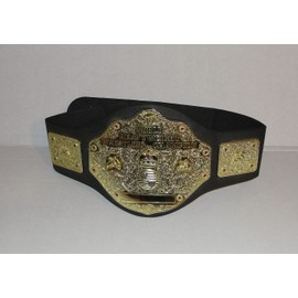 Ceinture De Catch World Heavyweight Vrestling Champion Du Monde Jakks Pacific 2003