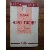M�thode De La Science Politique de georges Burdeau