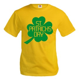 T-Shirt St Patricks Day-Sunflower-Green