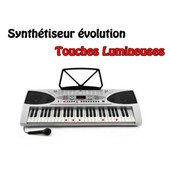 Clavier Piano Synthetiseur Electronique Touches Lumineuses
