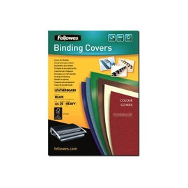 Fellowes Fsc Certified - A4 (210 X 297 Mm) - Noir - 250 G/M2 - 25 Unit�s Couverture � Reliure