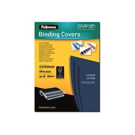 Fellowes Fsc Certified - A4 (210 X 297 Mm) - Bleu Royal - 250 G/M2 - 25 Unit�s Couverture � Reliure