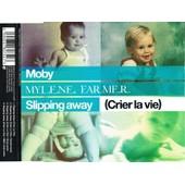 Moby. Mylene Farmer. Slipping Away (Crier La Vie). - Maxi-Single Boitier Cristal
