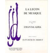 Partition Chantal Goya La Lecon De Musique