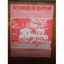 PARTITION PAROLES LE MATCH DE FOOTBALL ANTOINE