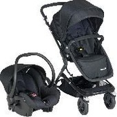 Safety First - Poussette Duo Kokoon Full Black