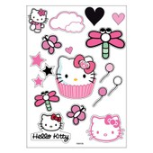 Planche A4 De Stickers Hello Kitty Autocollant Adh�sif Scrapbooking - A36