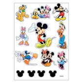 Planche A4 De Stickers Mickey Autocollant Adh�sif Scrapbooking - A42