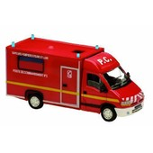 Solido - 150534 - V�hicule Miniature - Mod�le � L'�chelle - Renault Master Cellule Poste De Commandement - Echelle 1/50