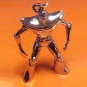 Figurine Soldat De V�ga En M�tal Chrom� Pour Pendentif Ou D�coration - Goldorak Grendizer
