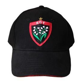 Casquette Rct Toulon - Collection Officielle Rugby Club Toulonnais - Blason Maillot Top 14