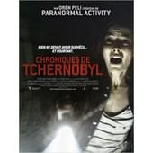 Chroniques De Tchernobyl /Chernobyl Diaries - V�ritable Affiche De Cin�ma Pli�e - Format 60*40 Cm -De Bradley Parker Avec Devin