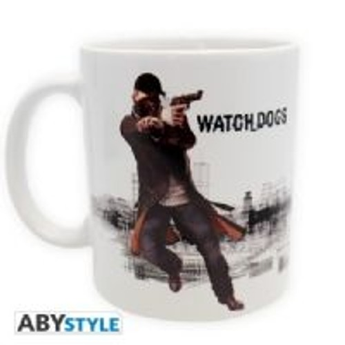 Abystyle - Abymug096 - Ameublement Et Décoration - Tasse - Watch Dogs Aiden Shooting