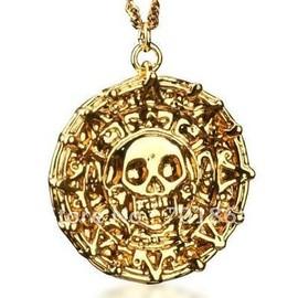 Collier Pi�ce D'or Pirates Des Cara�bes Qualit� Premium