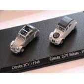 Duo - Citroen 2cv 1949 / 2cv Sahara 1958 - 1/87