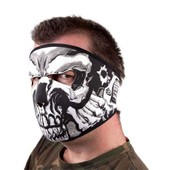 Cagoule Tour De Cou �charpe Foulard Masque Mask T�te Mort Squelette Os Style Warfare Airsoft Motarde Paintball Ghost Ski Moto
