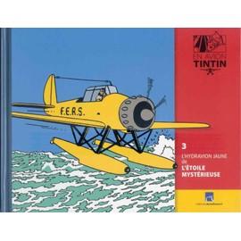 Livret En Avion Tintin 3 : L'hydravion Jaune De L'�toile Myst�rieuse