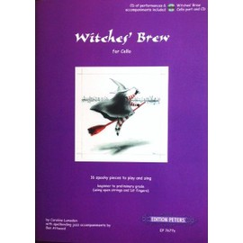 Witches' Brew for cello AVEC cd