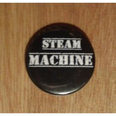 Badge Steam Machine 3,5 Cm De Diam�tre