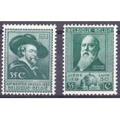 Exposition D'anvers Et De Li�ge � 1930 � 2 Valeurs � N� 299 � 300