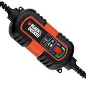 Chargeur Mainteneur De Batterie Moto 6v/12v Black & Decker