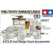 Tamiya - 35231 - Maquette - Accessoire Camion U S 2 1 / 2ton - Echelle 1:35