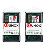 QUMOX 2GB 2Go (2x1GB) SODIMM DDR (200 broches) 333Mhz DDR333 PC2700 m�moire pour l'ordinateur portable