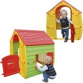 Maison Cabane En Plastique Pour Enfant Jeu Jouet Exterieur Portique Eveil - Ref : 37