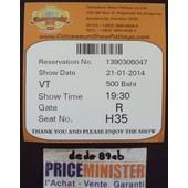 Ticket Pour Le Show Du Colosseum � Pattaya - Tha�lande -
