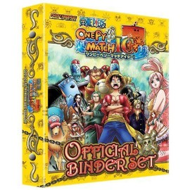 One Piece [Onepy B Match Ic] Official Binder Set (Yellow)