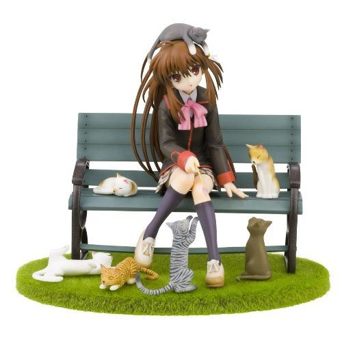Littlebusters! Natsume Rin Nekobiyori [1/8 Scale Pvc] [Toy] (Japan Import)