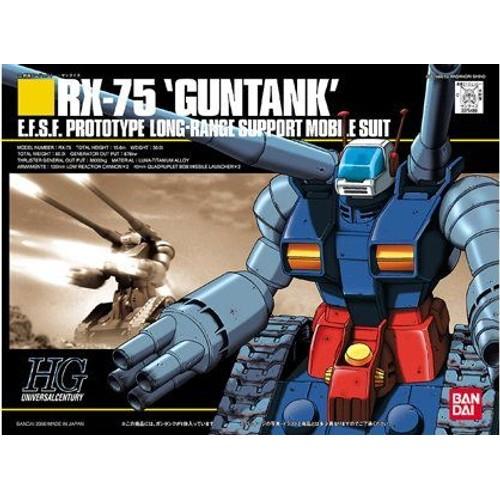 Bandai Ms In Action !! - Gundam - Rx-75 Guntank