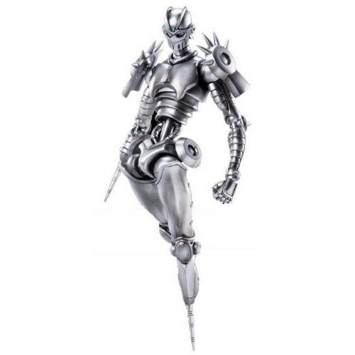 Super Figure Action [Jojo's Bizarre Adventure] Part V 42.Silver Chariot (Hirohiko Araki Specify Color) (Pvc Figure)