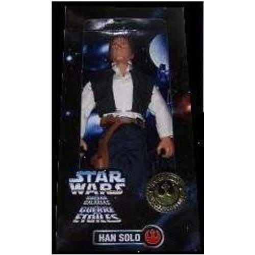 "Kenner Star Wars 12"""" Han Solo Tri Logo Box [Toy] (Japan Import)"