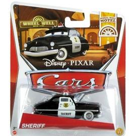 Disney Pixar Cars Sheriff (Wheel Well Motel Series) - Voiture Miniature Echelle 1:55